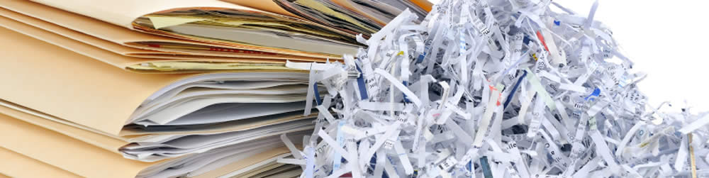 personal document shredding